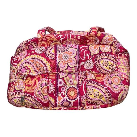 Vera Bradley RASPBERRY FIZZ Travel Diaper Bag